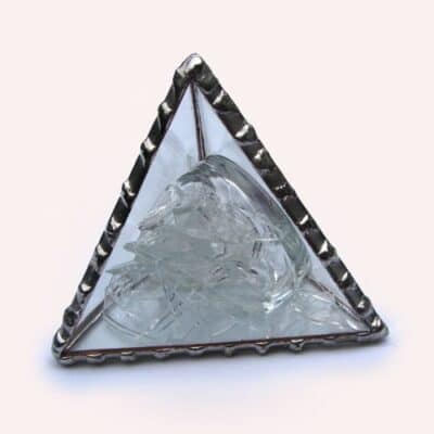 pyramid for wedding glass
